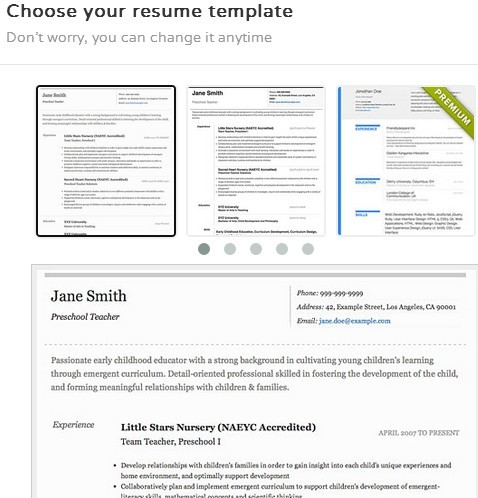 resume creator extensions for google chrome 3