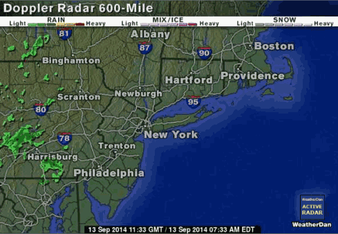satellite footage of radar coverage