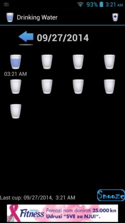 water drinking reminder apps android 2