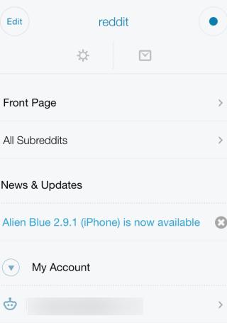 Alien Blue: Official Reddit Client App for iPhone