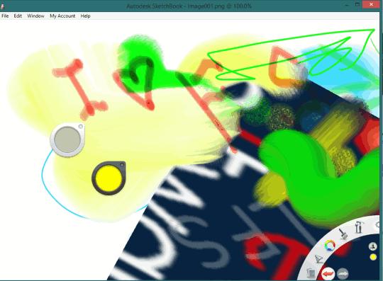 Autodesk SketchBook- interface