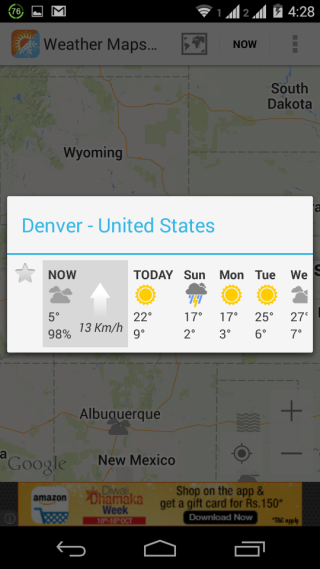 Detailed Weather Report