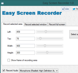 Easy Screen Recorder