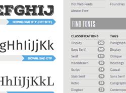 Font Squirrel- download free fonts