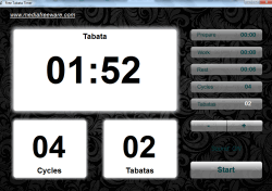 Free Tabata Timer- time management application