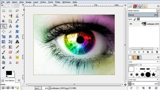 GIMPshop Main UI