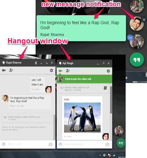 Official Google Hangouts app