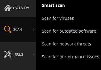 Avast 2015 Smart Scan