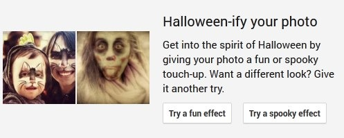 Auto-Awesome Halloweenify Select Effect