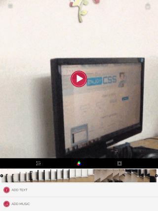 Timelapse Video Editing