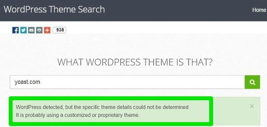 WhatWPThemeisThat Customized Theme Detection