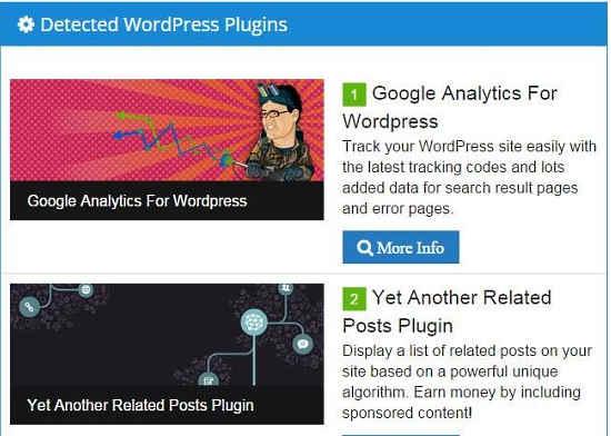 WhatWPThemeisThat Plugins Details