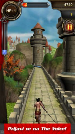 endless running game android 2