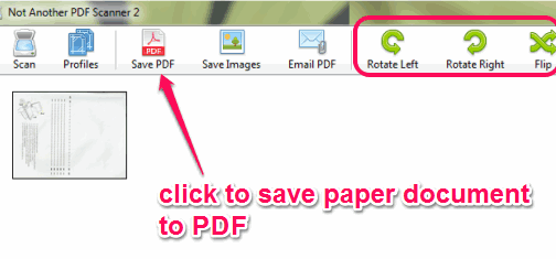 How To Create PDF Files from Scanner