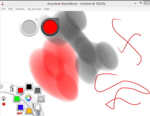 start drawing and save to PC