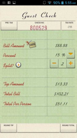 tip calculator apps android 4