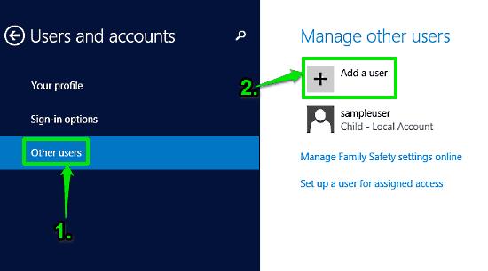 windows 10 add user
