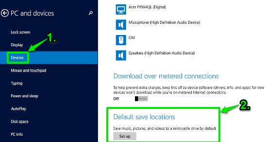 windows 10 default save locations