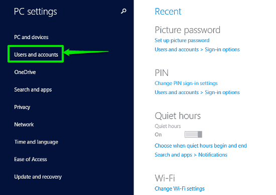 windows 10 pc settings