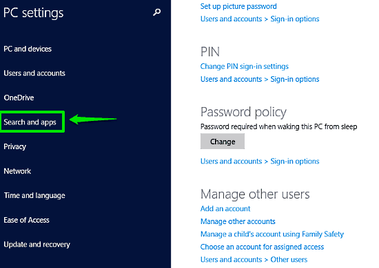 windows 10 pc settings