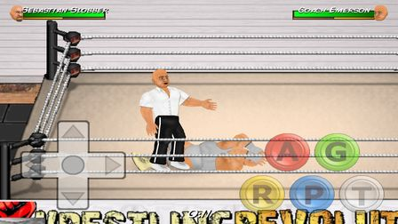 wrestling games for Android 1