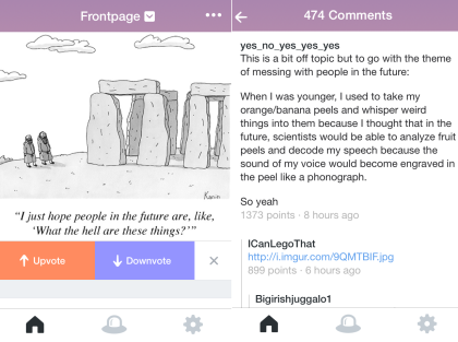 Commenting and Voting on Posts