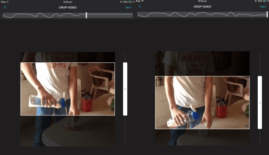 Cropping Video