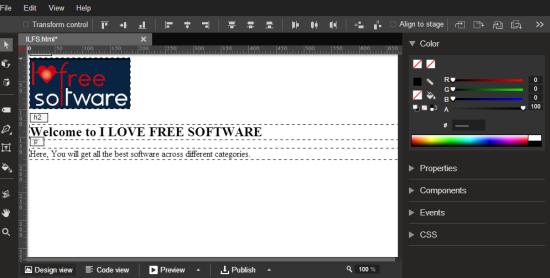 Google Web Designer Offline Freeware To Design Websites