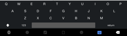 Kanvas Keyboard Layout