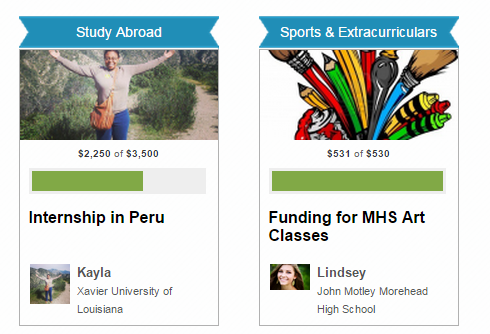 Live Fundraising Campaigns