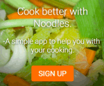 Noodles- write and store recipes online