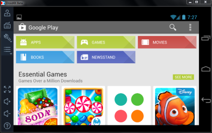 Play Store on Android Emulator for PC