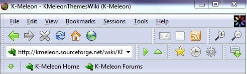 K-Meleon Default Layout