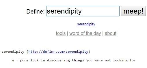 Definr Word Lookup