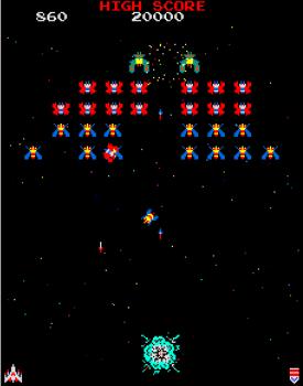 Internet Arcade Galaga