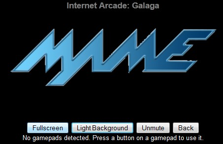 Internet Arcade MAME Interface
