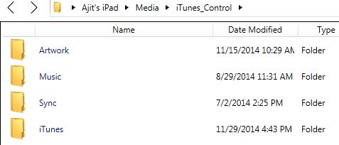 Songs Folder