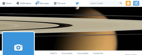 automatically update your Twitter Header photo