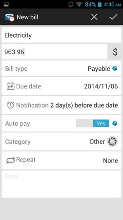 bill reminder apps for android 3