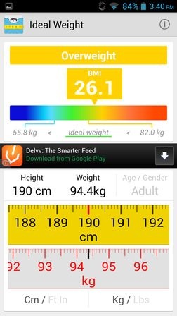 bmi calculator apps for android 2