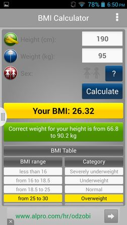 bmi calculator apps for android 5