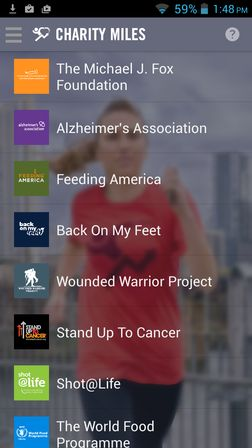 charity apps for Android 1