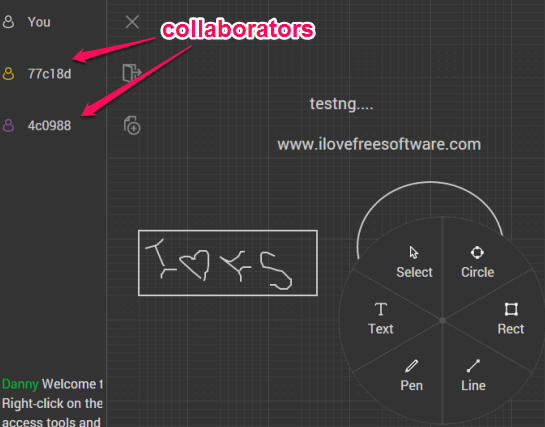 free online text editor to collaborate without sign up