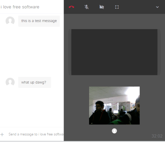 make group voice and video call