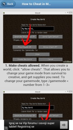 minecraft tips and tricks apps android 4