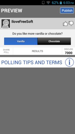 poll creator apps android 1
