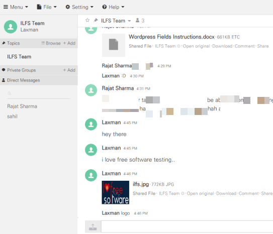 share files online and collaborate with your team