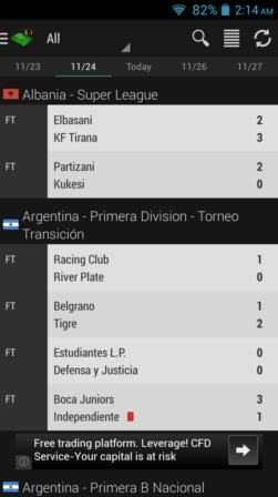 soccer news and live score apps android 2