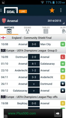 soccer news and live score apps android 3