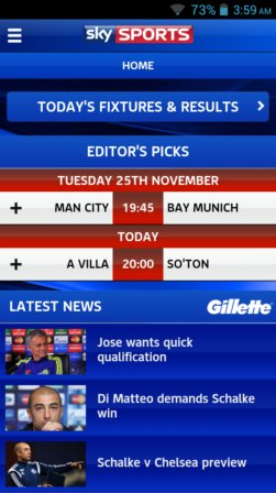 soccer news and live score apps android 4